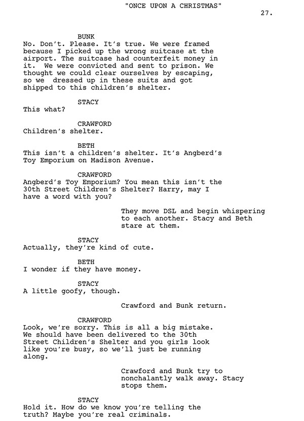 Stacy And Beth Script Sample